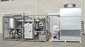 Formeco---evaporator---double-effect-water-cooled-with-cooling-tower