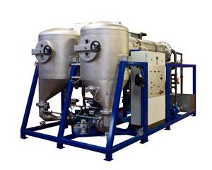 trattamento acque con evaporatore sottovuoto